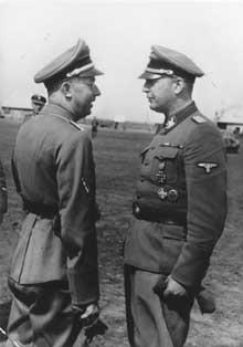 Hans Adolf Prützmann et Heinrich <a class=