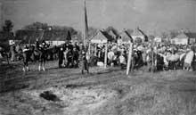 Augustow: rassemblement avant la déportation