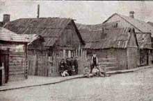 Baranowicze:rue de la ville juive avant la guerre