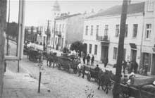 Belchatow: les Juifs entrent dans le ghetto