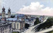 Bielsko Biala – Bielitz: vue de la ville au début du XIXè siècle