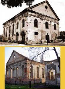 Dzialoszyce: la synagogue
