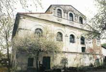 Kobrin en Biélorussie: la synagogue