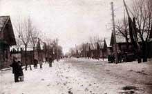 La ville de Lachva en 1926..