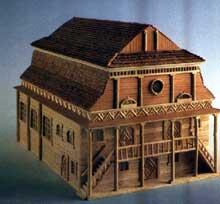 Lutomiersk: la magnifique synagogue en bois