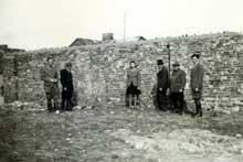 Mlawa: le mur du ghetto