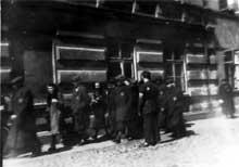 Pabianice: dans le ghetto en 1940