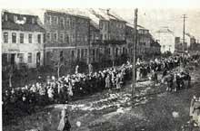 Plock: déportation des Juifs de la ville