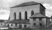 Podhajce: la grande synagogue