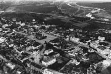 Sandomierz: vue de la ville