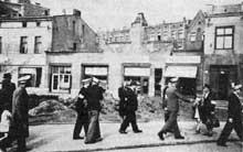 Sosnowiec: la police juive du ghetto, en 1943