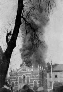 Tarnopol: la synagogue détruite par les SS