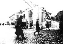 Tomaszow Mazowiecki: la synagogue en 1940