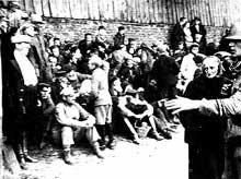 Tomaszow Mazowiecki: déportation vers Treblinka