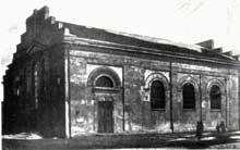 Zdunska Wola: la synagogue