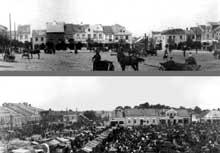 Zwolen: place du marché en 1939