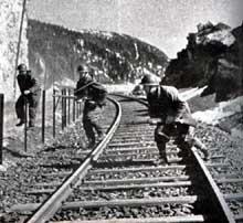 Troupes françaises à Narvik