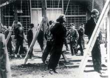 Travailleurs forcés polonais pendus en Allemagne, 1943