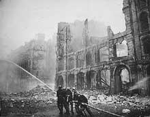 Londres sous le « Blitz », 1941