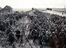 Opération Barbarossa : prisonnier de guerre soviétique. Des centaines de milliers vont mourir de faim