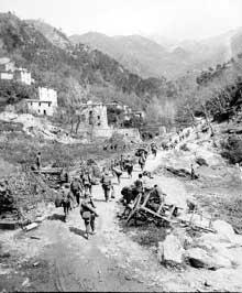 Avril 1944 : les troupes US près de Florence