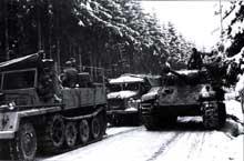 Décembre 1944: la contre-attaque allemande dans les Ardennes. La dernière carte d'<a class=