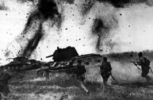 Bataille de Koursk : contre attaque soviétique