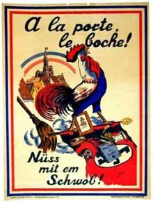 L'Alsace libérée se débarrasse du « fatras » nazi