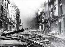 Raid allemand sur Coventry