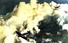 Duel aérien dans le ciel anglais