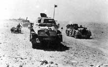 Blindés de l'Afrika Korps