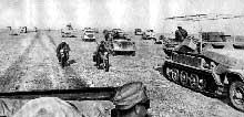 L'avance de Rommel en Cyrénaïque bouscule les troupes anglaises