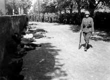 Terreur en Yougoslavie : les Allemands massacrent des serbes à Pancevo le 22 avril 1941