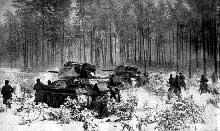 Contre offensive soviétique devant Moscou. Fin octobre 1941