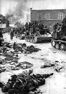 Contre offensive soviétique devant Moscou. Les Allemands sont défaits