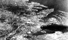 Bombardier italien sur Malte, janvier 1942
