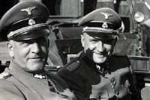 Le SS Oswald Pohl pause avec Richard <a class=