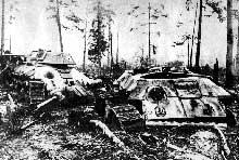 Bataille de Kharkov : chars soviétiques détruits par les redoutables 88 allemands