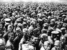 Bataille de Kharkov : prisonniers soviétiques
