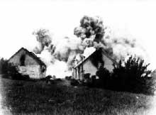 Le village de Lidice paie l'attentat contre le Reichsprotektor Heydrich