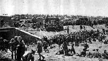 Bataille de Tobrouk : prisonniers anglais