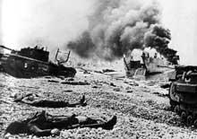 Dieppe : un désastre qui servira de leçon moins de deux années plus tard