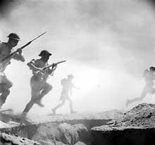 El Alamein : les Anglais à l'attaque