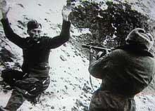 Stalingrad : reddition d'un soldat allemand