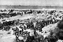 Débarquement en Sicile de la 65è armée américaine