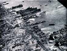 Débarquement américain à Leyte