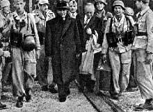 12 septembre 1943 : les paras d'Otto Skorzeny délivrent le Duce au Gran Sasso