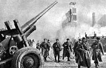L'armée soviétique à Dantzig