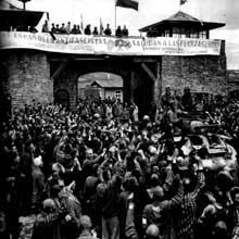 Mauthausen : la libération du camp