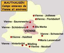 Mauthausen: les camps annexes de la région de Vienne